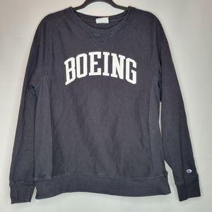 Vintage 90s Champion Boeing Reverse Weave Crewneck Sweatshirt